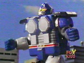 Blue wolf zord - photo#8